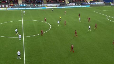 Holmberg tvåmålsskytt - sätter 3-1 för Örebro