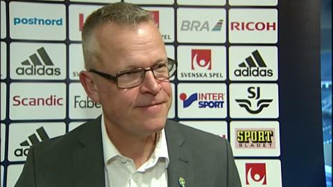 Intervju med Janne Andersson