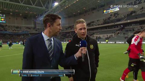 """Israelsson efter derbysegern: """"Vi blir bättre och bättre"""""""
