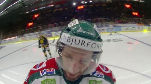 """Joel Lundqvists deal med domaren: """"Du kan väl säga att du missa den"""""""
