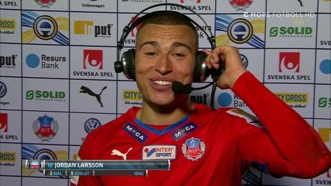 Jordan Larsson: Mitt snyggaste mål i karriären