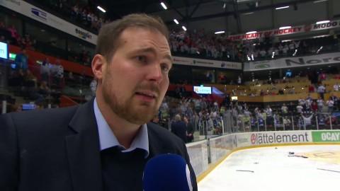 Leksandstränaren Dahlgren känslosam efter vinsten