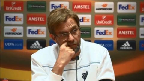 """Liverpool touchar inte klassiska skylten: """"Måste vinna något först"""""""
