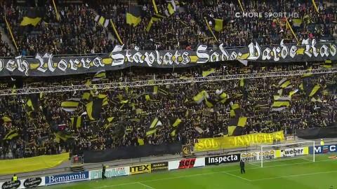 Ljuvlig stämning inför AIK:s premiärmatch