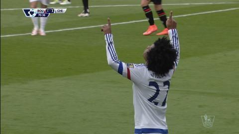 Mål: Chelsea utökar genom Willian (1-3)