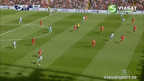 Mål: Cissé reducerar för Newcastle (2-1)