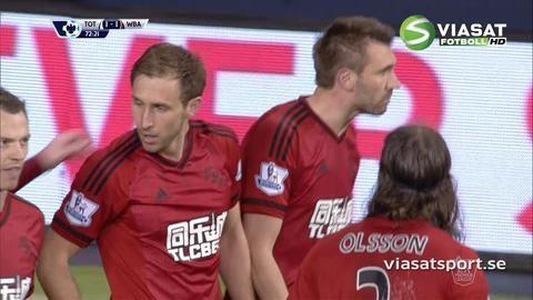 Mål: Dawson kvitterar mot Tottenham (1-1)