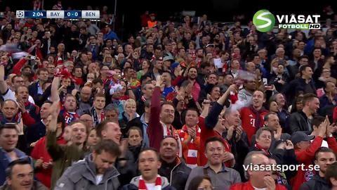 Mål: Mardrömsstart för Lindelöf - Bayern tar ledningen direkt (1-0)