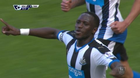 Mål: Newcastle utökar - Sissoko nätar (2-0)