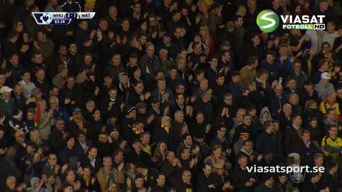Mål: Proedl trycker in reduceringen för Watford (3-1)