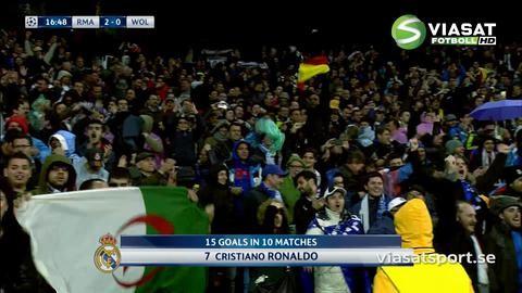 Mål: Real i förarsätet efter två snabba av Ronaldo (2-0)