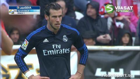 Mål: Real Madrid reducerar på hörna (2-1)