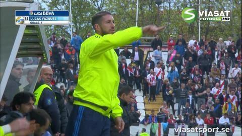 Mål: Real Madrid utjämnar i andra halvlek (2-2)