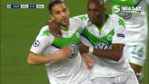 Mål: Rodriguez öppnar målskyttet mot Real (1-0)