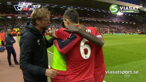 Mål: Sakho utökar för Liverpool i Merseyside-derbyt (2-0)