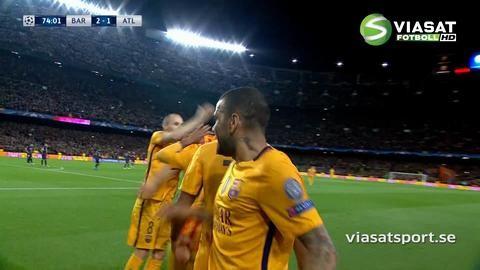 Mål: Suarez tvåmålsskytt - fullbordar vändningen (2-1)