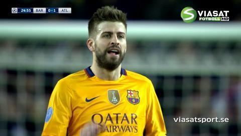 Mål: Torres öppnar målskyttet mot Barça (0-1)