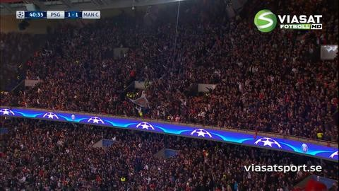 Mål: Zlatan tar revansch - kvitterar efter Fernandos supertavla (1-1)