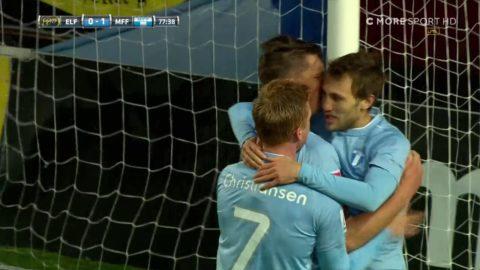 MFF utnyttjar Elfsborgs tabbe - Rosenberg gör 1-0