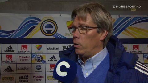 """Pelle Olsson efter ytterligare en derbyförlust: """"Inte vårt rätta jag"""""""
