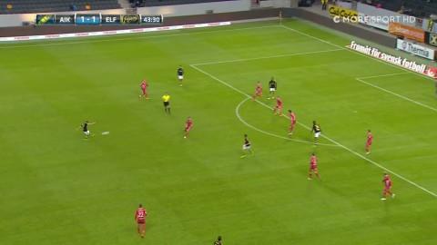Saletros bombar in 2-1 för AIK