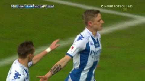 Salomonsson spelar fram Rieks till 1-0 i derbyt