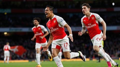 Sammandrag: Arsenal tog viktig seger i jakten på Champions League