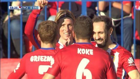 Sammandrag: Atlético mot toppen efter ny seger