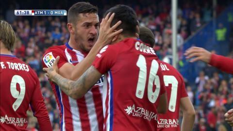 Sammandrag: Atlético vann med Simeone på läktaren