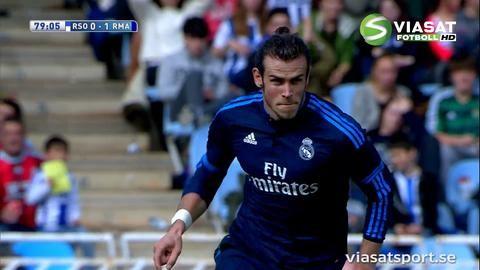 Sammandrag: Bales nickmål fällde avgörandet i San Sebastian