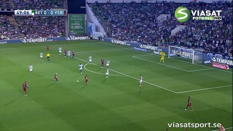 Sammandrag: Barcelona åter i serieledning efter bortaseger mot Real Betis