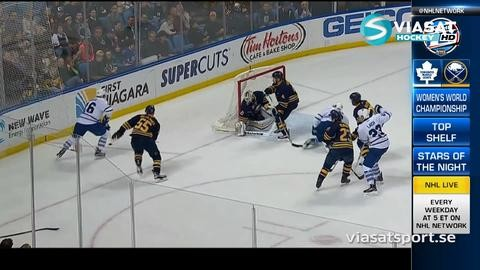 Sammandrag: Buffalo-Toronto: 4-1