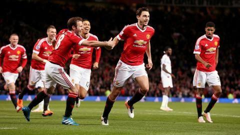 Sammandrag: Darmian ordnade viktig seger för United
