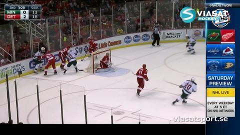 Sammandrag: Detroit-Minnesota (3-2)