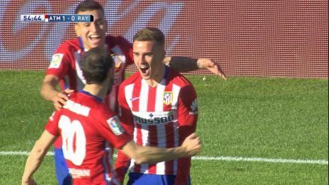 Sammandrag: Griezmann matchhjälte för Atlético i mötet med Rayo Vallecano
