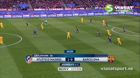 Sammandrag: Griezmann sänkte Barça med två mål