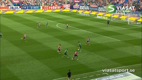 Sammandrag: Griezmann tvåmålsskytt när Atlético sänkte Betis