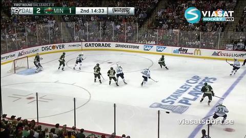 Sammandrag: Minnesota-Dallas (5-3)