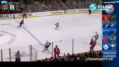 Sammandrag: Minnesota-Ottawa: 2-3