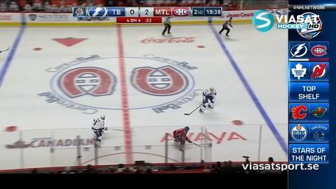 Sammandrag: Montreal-Tampa Bay: 5-2