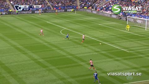 Sammandrag: Morgan stor matchhjälte för Leicester