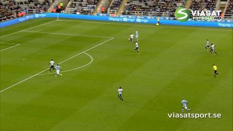 Sammandrag: Newcastle tog värdefull poäng mot City