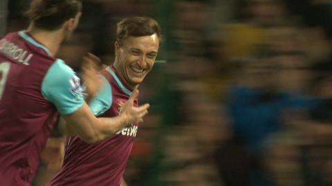 Sammandrag: Noble tvåmålsskytt när West Ham tog tre poäng