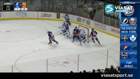 Sammandrag: NY Islanders-Tampa Bay 5-2