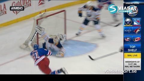 Sammandrag: NY Rangers-Buffalo (3-4)