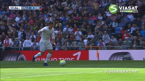 Sammandrag: Reserverna glänste för Real Madrid