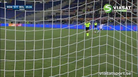 Sammandrag: Roma-Bologna 1-1