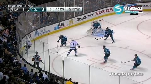 Sammandrag: San Jose-LA Kings (3-2)