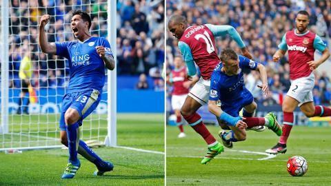 Sammandrag: Stor dramatik när Ulloa räddade poäng för Leicester