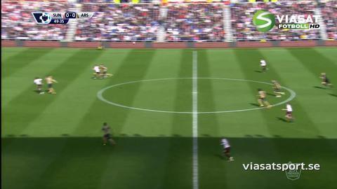 Sammandrag: Sunderland knep viktig poäng mot Arsenal